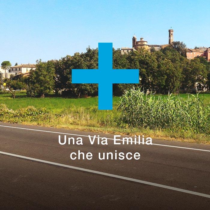 Una via Emilia che unisce